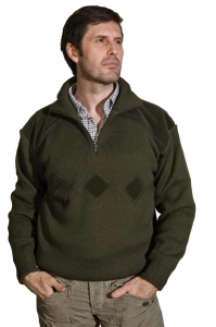Pull-over col camionneur
