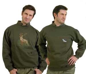 SWEAT-SHIRTS BRODES COL ROND